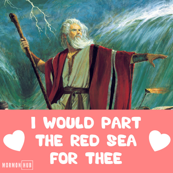 parting red sea valentine old testament