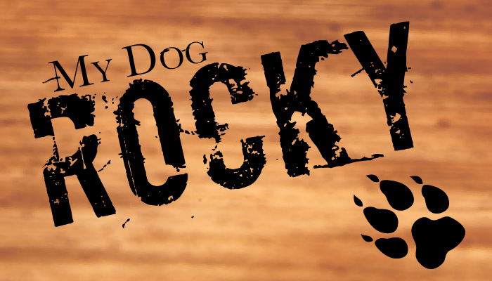 My Dog Rocky title graphic