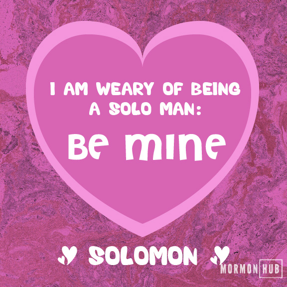 solo man valentine old testament