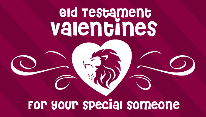 Old Testament Valentines graphic