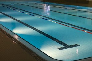 dark swimming pool
