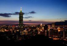Taiwan night time