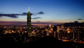 Taiwan night time