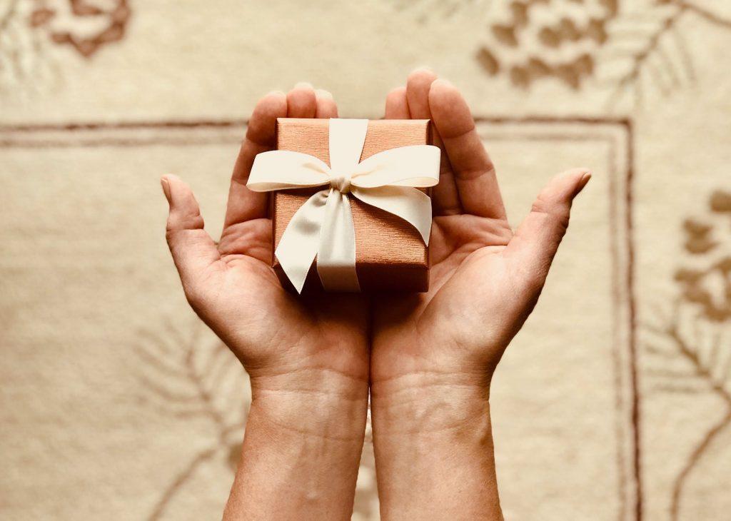 gift, present, blessing