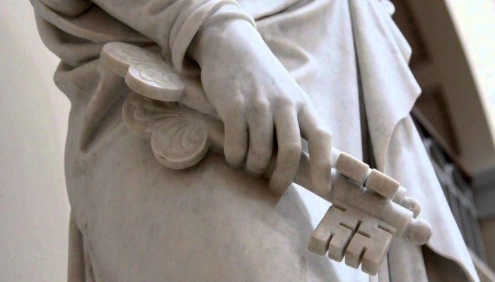 priesthood keys statue