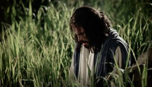 Savior in Isolation at Gethsemane