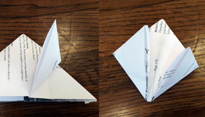 Ward Bulletins origami balloon step 4