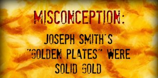 Main image for story about golden plates