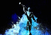 Stylized image of Angel Moroni