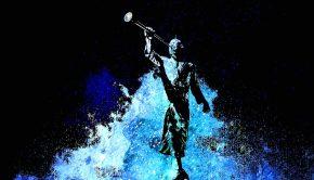 Stylized image of Angel Moroni