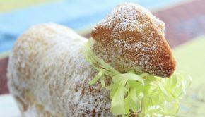 German Easter bread lamb