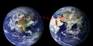 Globe of the world
