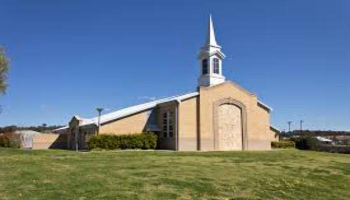 LDS church building