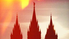 Salt Lake City temple spires