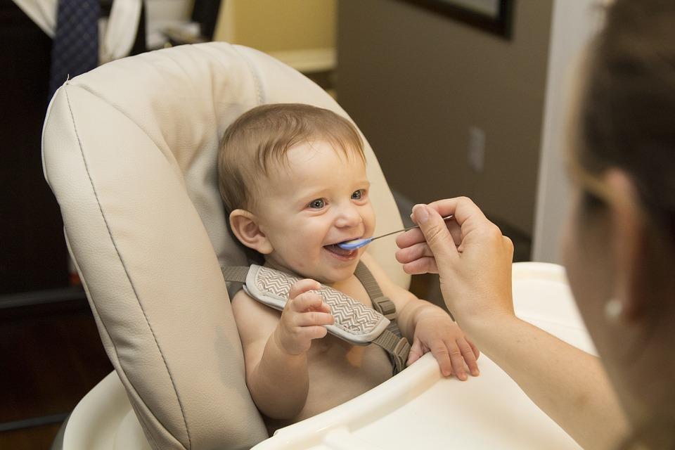 toddler child eating