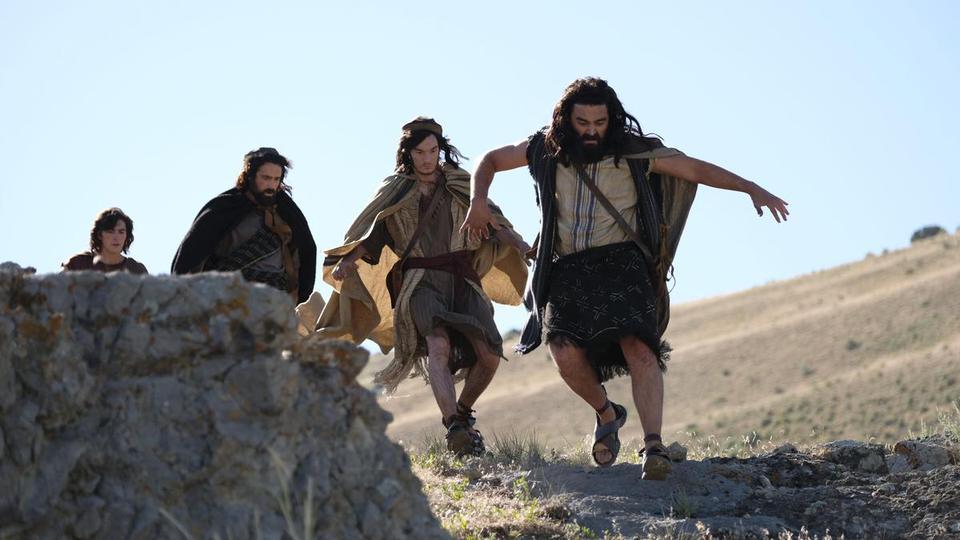 Laman, Sam, Lemuel, Nephi