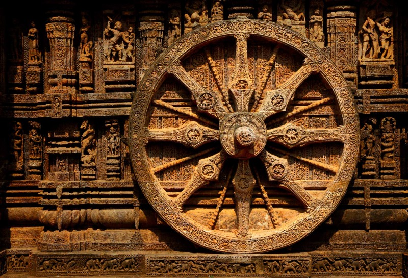 Dharma Wheel Life Temple