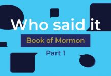 book of mormon quiz title graphic