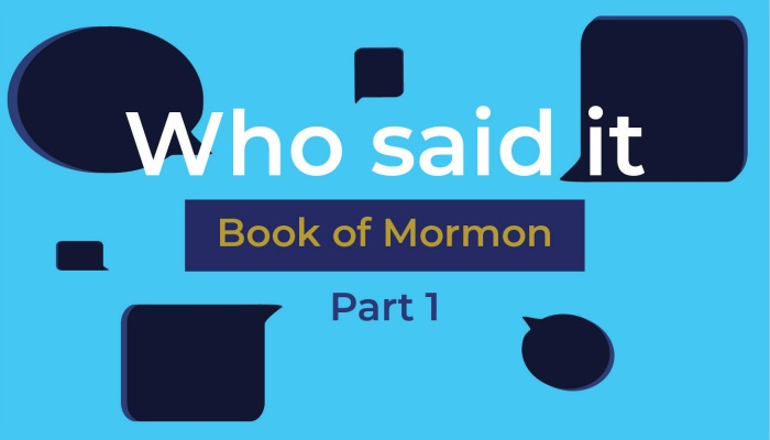 book of mormon quiz title graphic