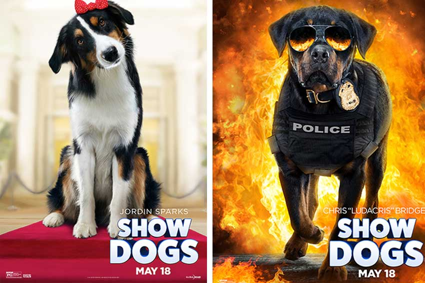 Show Dogs Movie Posters