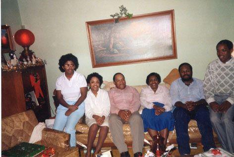 family of Keith Brown Black Mormon
