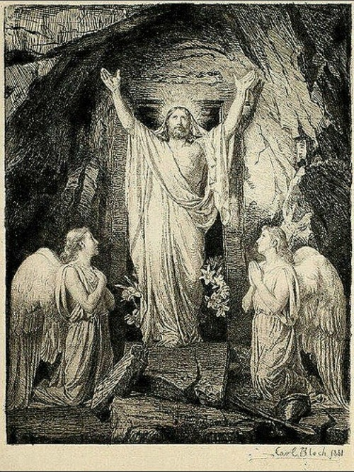 carl bloch resurrection of christ etching