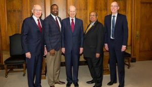 LDS General Authorities with NAACP President
