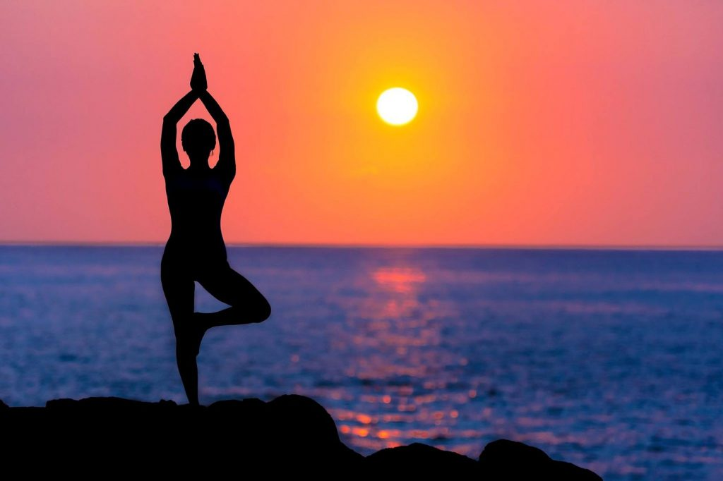 Yoga Sunset
