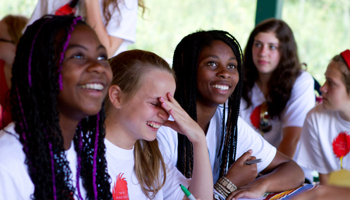 Young Women at Girls' Camp New Young Women's Camp Guidebook