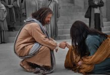 Jesus and the woman taken in adultery