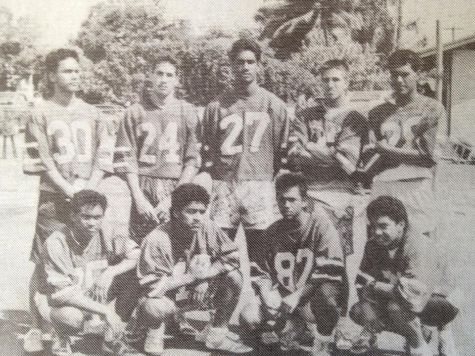 Kahuku football boys 1984