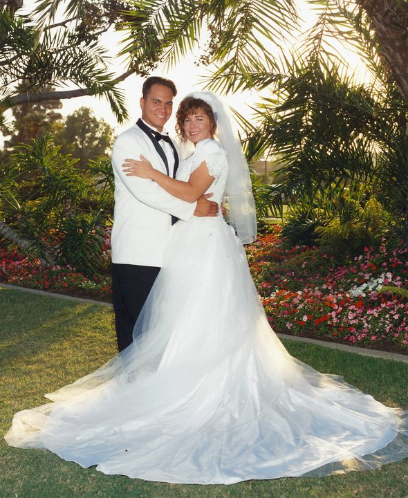 Shawn and Lisa Tanuvasa Marriage in August 1994