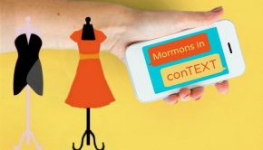 texting about mormons wearing modest clothing