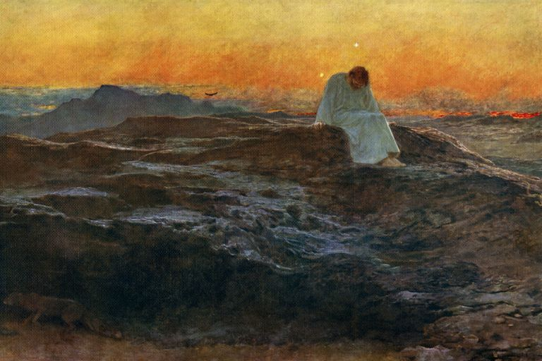 Jesus desert