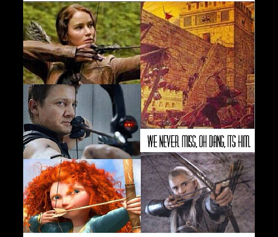meme about arrows and samuel