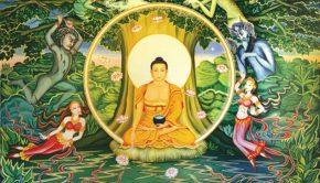 Meditation gods enlightenment