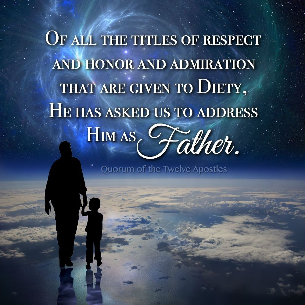 Address Him as Father