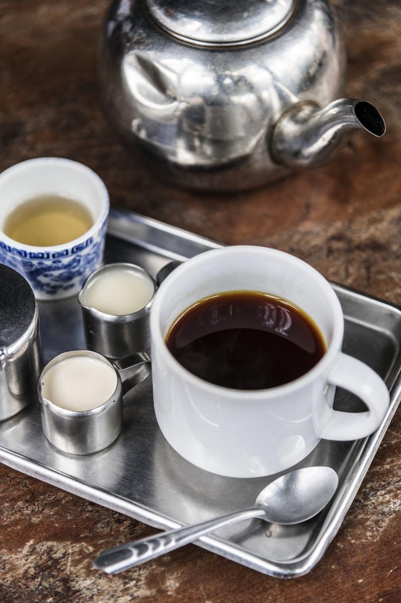 Mormon beliefs, an image of tea