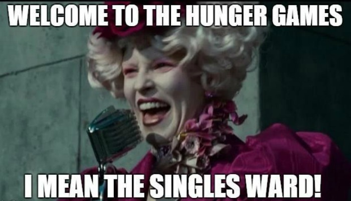 singles ward hunger games