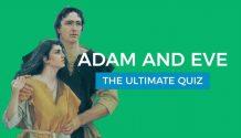 Adam and Eve quiz title graphic