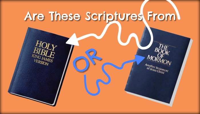 Image of Bible and Book of Mormon