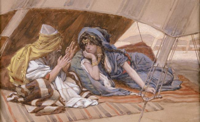 Tissot Abraham and Sarah