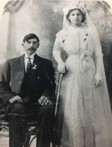 "my ""pioneer"" grandfather's grandparents"