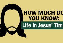 Life of Jesus quiz graphic