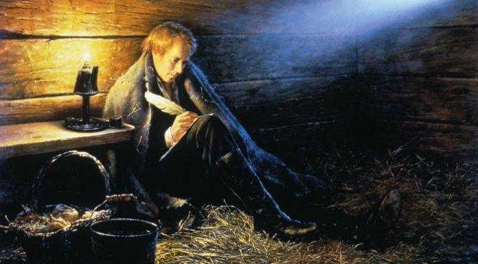 Painting of Joseph Smith in Liberty Jail