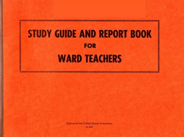 Ward Teaching Study Guide