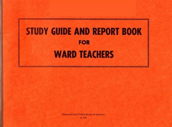 Ward Teaching Study Guide