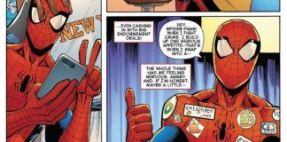 Spider-Man comic illustrations