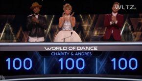 World of Dance judges applauding LDS dancers