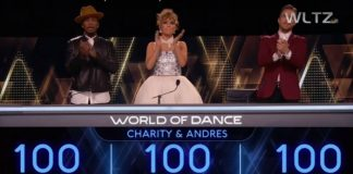World of Dance judges applauding LDS dancers
